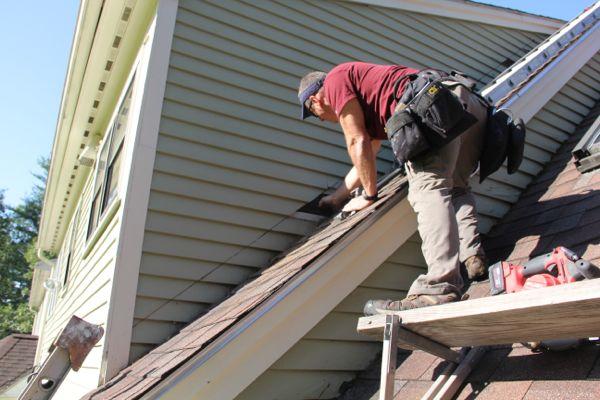Roof Siding Install 3